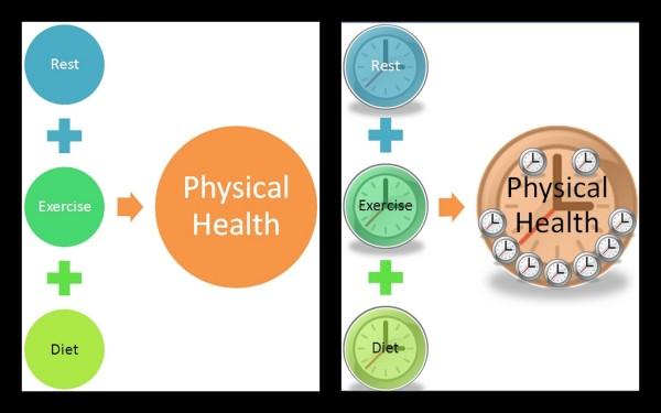 Various clocks to keep your good health ticking