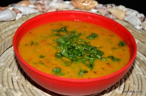 Sugar hidden in this savoury daal!